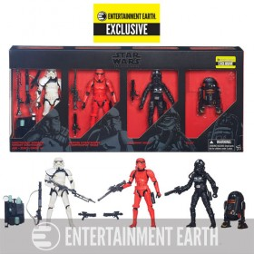 Star Wars The Black Series Imperial Forces 6-Inch Action Figures - Entertainment Earth Exclusive